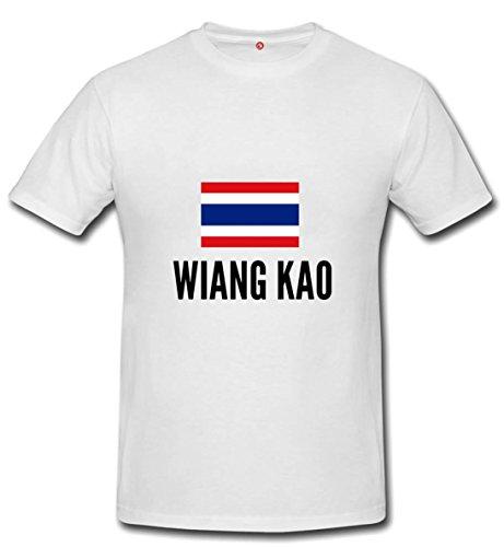 T-shirt Wiang kao city White