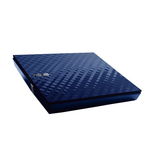 Asus USB 2.0 6x Blu-Ray Combo External Optical Drive SBC-06D1S-U (DARK BLUE)