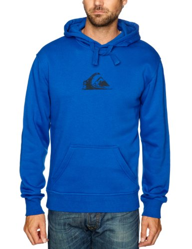 Quiksilver Hood Rib Logo-KPMSW96211 Men's Sweatshirt Cobalt Medium