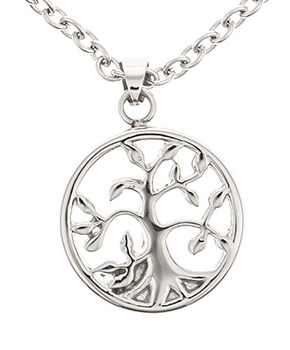 Premium Tree of Life Cremation Urn Jewelry Necklace