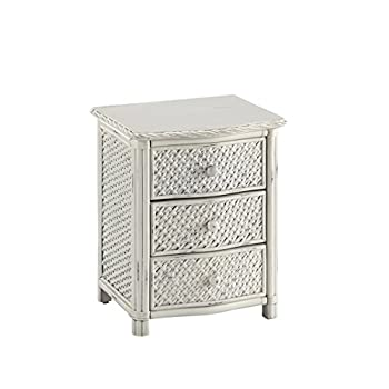 Home Styles Marco Island Night Stand with White Finish