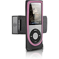 Digital Lifestyle Outfitters Action Jacket for iPod nano 4G (Black/Pink)