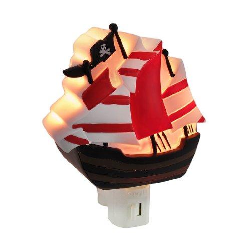 Children`S Pirate Ship Night Light Nite Lite Nightlight front-875321