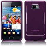 Purple Gel Case Cover for Samsung i9100 Galaxy S2 Part Of The Qubits Accessories Rangeby Qubits