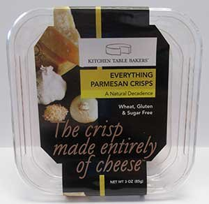 Kitchen Table Bakers Everything Parmesan Crisps 3 Oz Health Personal Care