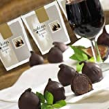 Rabitos Royale Dark Chocolate Fig Bonbons Mini Gift Box (3 individually wrapped, 1.6 oz/ 47 g)
