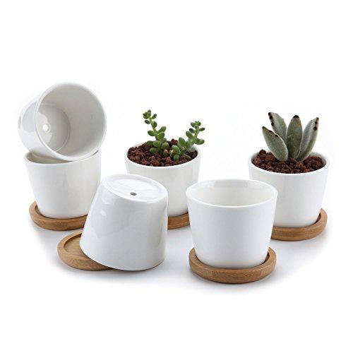 t4u-25-inch-ceramic-white-round-simple-design-sucuulent-plant-pot-cactus-plant-pot-flower-pot-with-b
