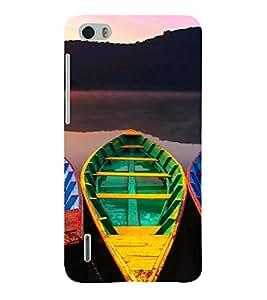 PrintVisa Travel Boats Design 3D Hard Polycarbonate Designer Back Case Cover for Huawei Honor 6