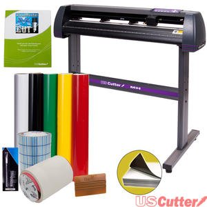 Vinyl Cutter USCutter MH 34in BUNDLE - Sign Making Kit w/ Design & Cut Software, Supplies + Tools (Vinyl Cutters 24 In compare prices)