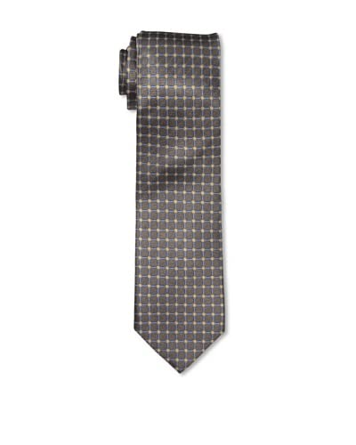 English Laundry Men's Grid Tie, Brown