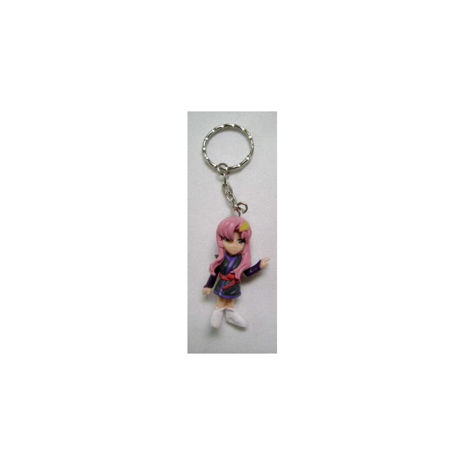 Gundam Seed Chibi Lacus Clyne Key Chain Toys & Games