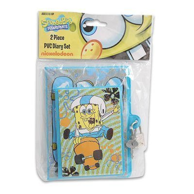 2pc Small Spongebob Diary Set