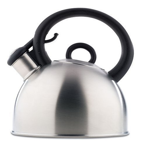 Copco Porto 1-1/2-Quart Brushed Stainless Steel Teakettle