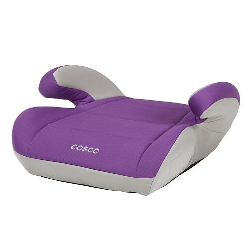 Cosco Topside Booster Car Seat - Purple front-227587