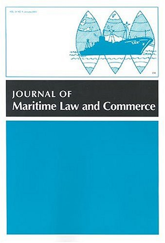 Journal of Maritime Law & Commerce
