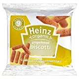 Heinz Organic Gingerbread Biscotti 9 Mths+ 12 x Pack 60G