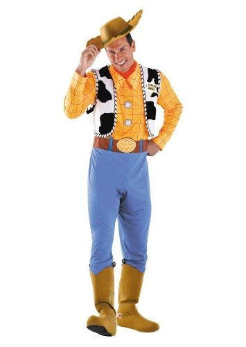 Costumes For All Occasions Dg50550D Woody Deluxe Adult 42-46