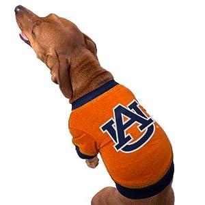 Auburn Tigers Orange Collegiate Dog T-shirt (X-Small)