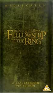 Lord Of The Rings, The: The Fellowship of The Ring (Extended Version) [UK-Import] [VHS]