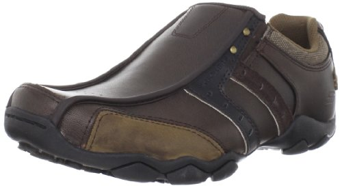 Skechers Men's Diameter Heisman Slip-on Dark Brown 13 UK