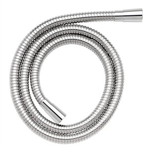 2 M Stainless Steel Reinforced Shower Hose With 11 Mm Bore By Croydex