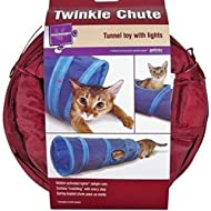 Twinkle Chute Tunnel Cat Toy
