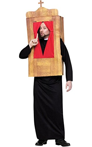 Costumes The Confessional Adult Religious Church Fancy Dress