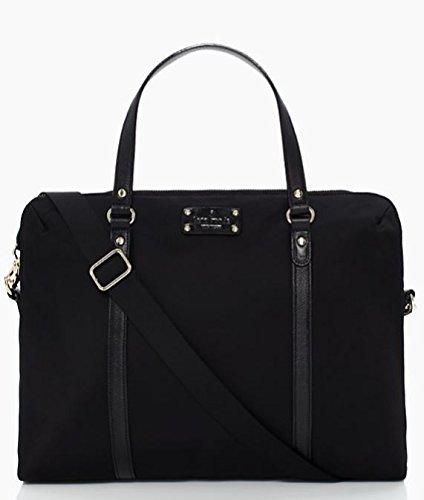 Kate Spade New York Gramercy Park Calista Laptop Bag (Black) front-297179