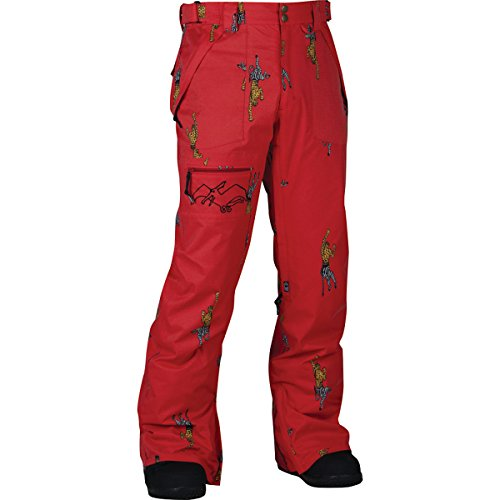 Airblaster AB/BC Pant – Men's Red Cheebrah, M
