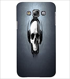 PrintDhaba Music Skull D-2104 Back Case Cover for SAMSUNG GALAXY GRAND 3 (Multi-Coloured)