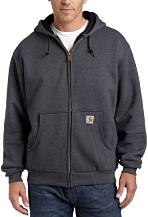 Carhartt Mens Big-Tall Thermal Lined Hooded Zip Front Sweatshirt by Carhartt