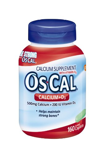 Os-Cal 500 Plus D 500 Mg 160 Cplts