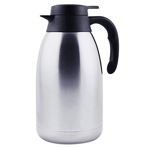 68-Oz-Stainless-Steel-Thermal-Carafe-Double-Walled-Vacuum-Thermos-12-Hour-Heat-Retention-2-Litre