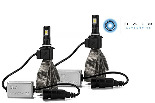 Halo Automotive Premium Fanless 9006 LED Conversion Kit - 40w 8,000Lm 6000K White CREE - 2 Year Warranty (04 Nissan Titan Halos compare prices)