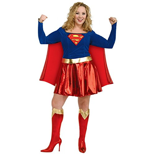 [GSG Supergirl Costume Adult Superwoman Female Sexy Hero Halloween Dress] (Female Master Chief Costumes)
