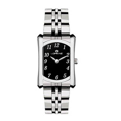 Lorenz 027169BB Reloj de Mujer de Cuarzo Con Correa de Acero Acero Quandrante Color Negro