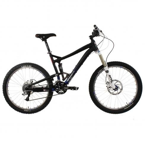 Diamondback Mission 26-Inch Wheeled 2 All Mountain Full Suspension Mountain Bike (Gloss Black, X-Large/21-Inch)