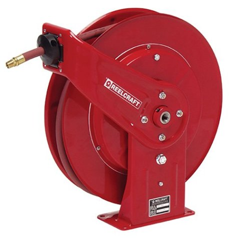 Reelcraft 7850 OLP 1 2-Inch by 50-Feet Spring Driven Hose Reel for Air WaterB0001AGNVE : image