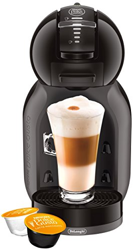 DeLonghi America EDG305BG EX:1 Nescafe Dolce Gusto Mini Me Espresso and Cappuccino Machine, Black