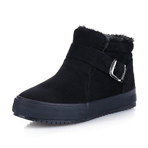 GGH Signore lavoro confortevole slittamento sui fannulloni delle donne scarpe casual All Black,38