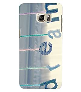ColourCraft Quote Design Back Case Cover for SAMSUNG GALAXY NOTE 5 EDGE