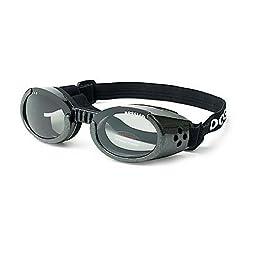 Doggles ILS Black Dog Glasses Small
