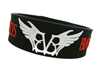 Amazon.com: BLACK VEIL BRIDES BVB Wristband (#3): Clothing
