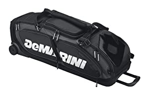 DeMarini Black Ops Baseball Softball Equipment Wheel Bag by DeMarini