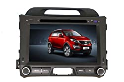 See 8 Inch 2 Din Car DVD Player for KIA SPORTAGE R (2010-2013),DVD,GPS,RDS,IPOD,BT,Analog TV,Remote Control,Rear Reviewing Function Details