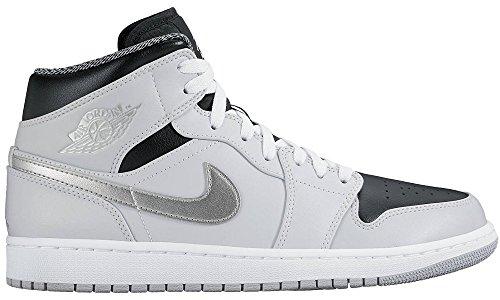 nike-herren-air-jordan-1-mid-basketball-turnschuhe-plateado-pure-platinum-white-metallic-silver-455-