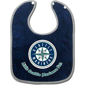 MLB Seattle Mariners WCRA0117914 All Pro Baby Bib