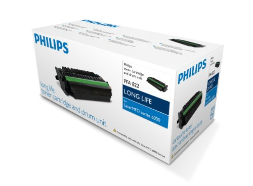 Philips Laser Toner Cartridge Page Life 3000pp Black Ref PFA821