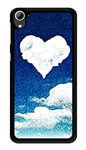 """Humor Gang Heart In Clouds Printed Designer Mobile Back Cover For """"HTC DESIRE 826"""" (3D, Glossy, Premium Quality Snap On Case)"""