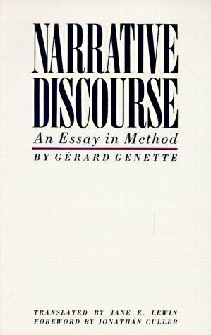 gerard genette narrative discourse essay method